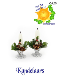 Workshop Kerst Kandelaars