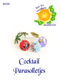 W019 DIY Cocktail Parasolletjes