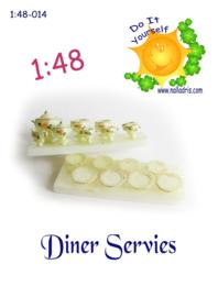 1:48 DIY Dining Room Set