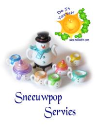 DIY Teaset Snowman