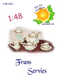 1:48-022 French Tea Set