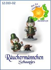 12.010-2 DIY Räuchermännchen Schaapjes