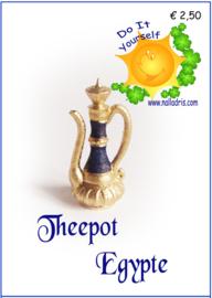 Workshop Egyptische Theepot