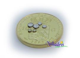 Set 1:12 munten Koningin Wilhelmina 1898