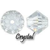 MC Bead Rondell 3mm Crystal - 720