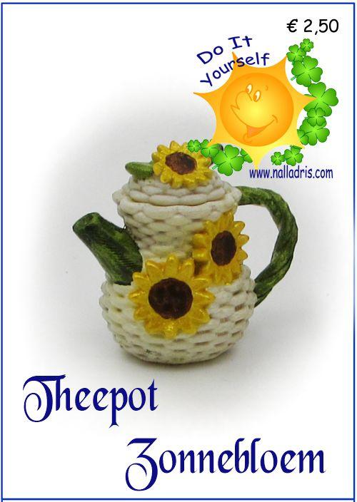 DIY Z - Sunflower teapot