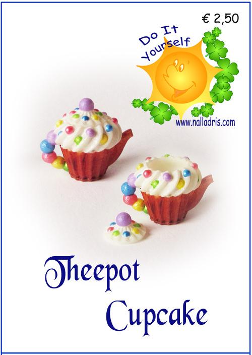 DIY C - Cupcake Teapot