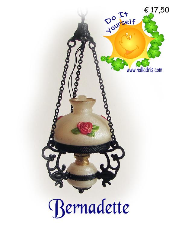 DIY Oil lamp Bernadette