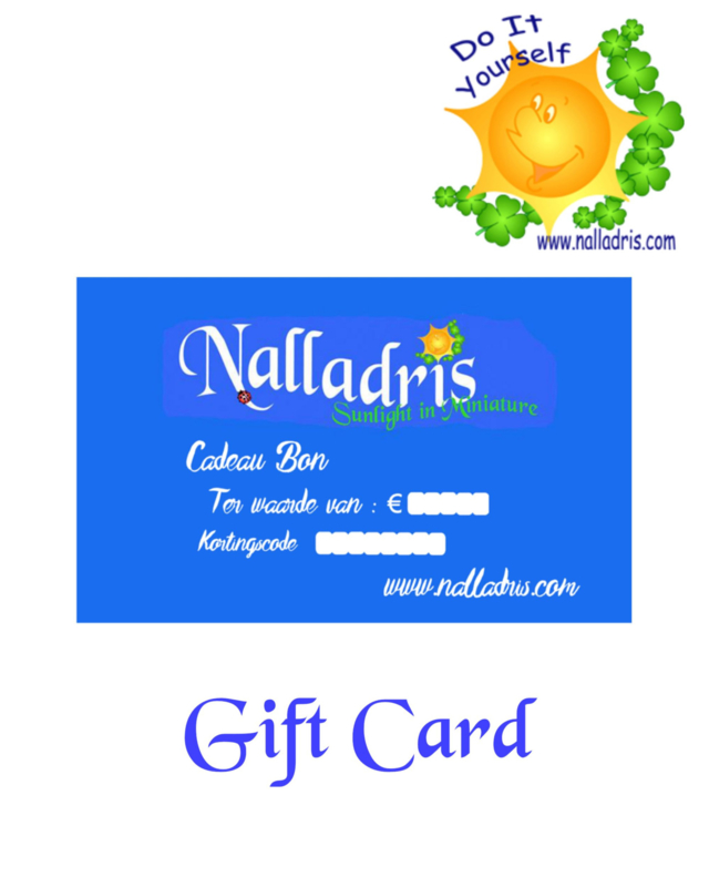 Gift Card €5 - €10 - €25 - €50