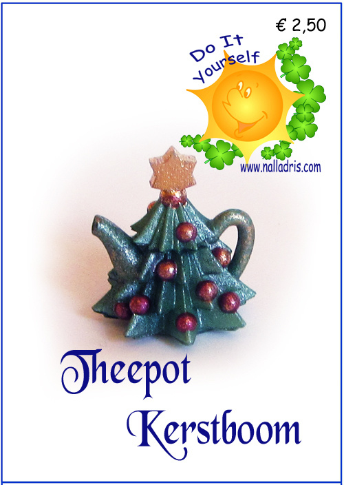 Workshop Kerstboom Theepot