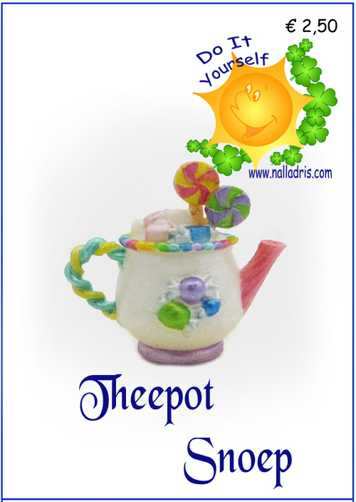 Workshop Snoep Theepot