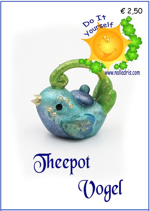 Workshop Vogel Theepot
