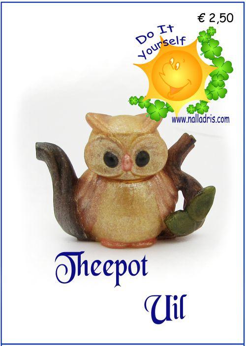 DIY U - Owl Teapot