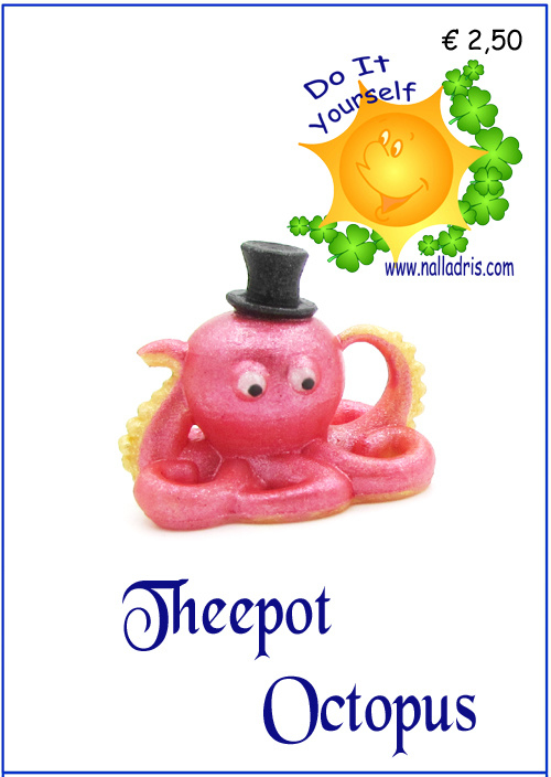 Workshop Octopus Theepot