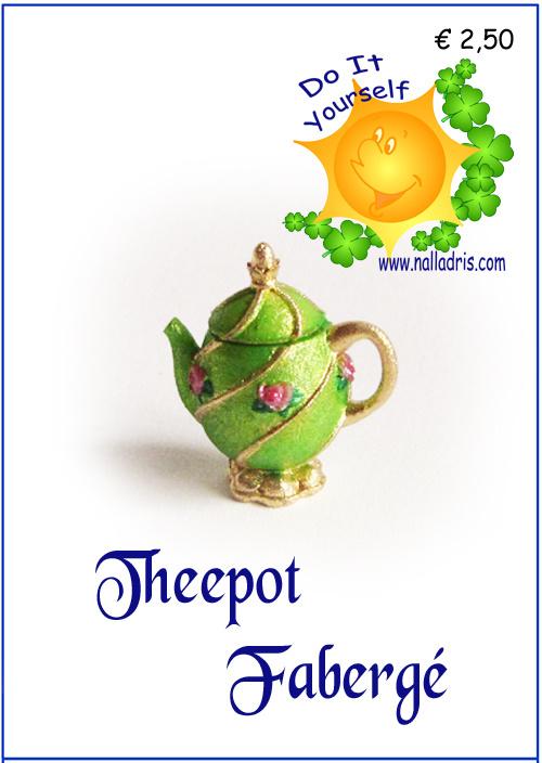 Workshop Fabergé Theepot