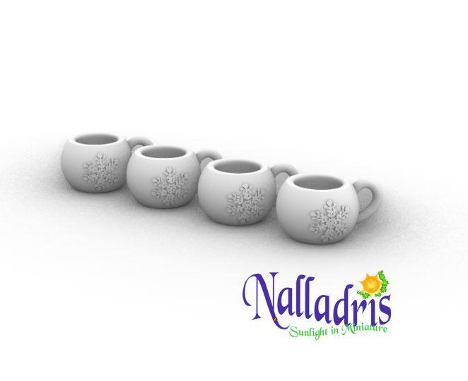 10.052 Cocoa mugs