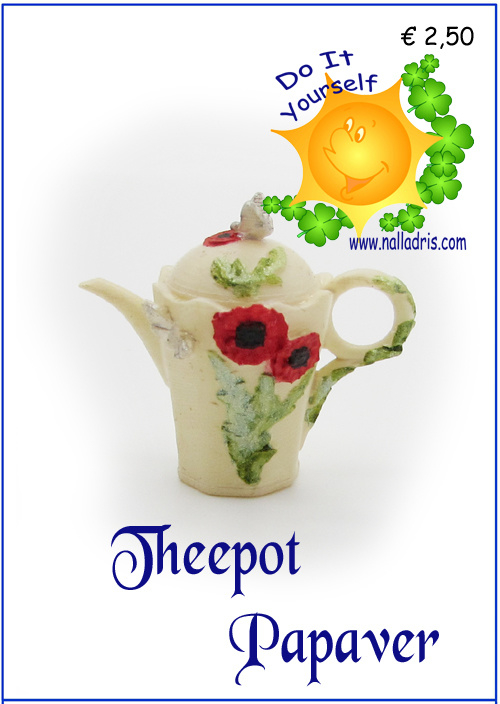 Workshop Papaver theepot