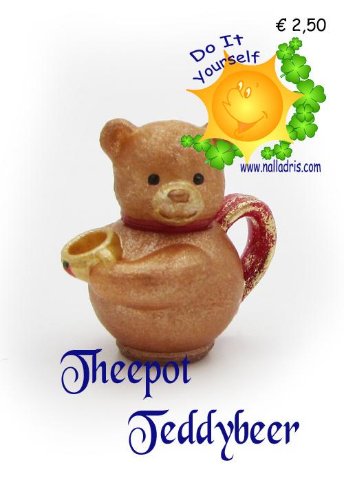 DIY T - Teddybear teapot