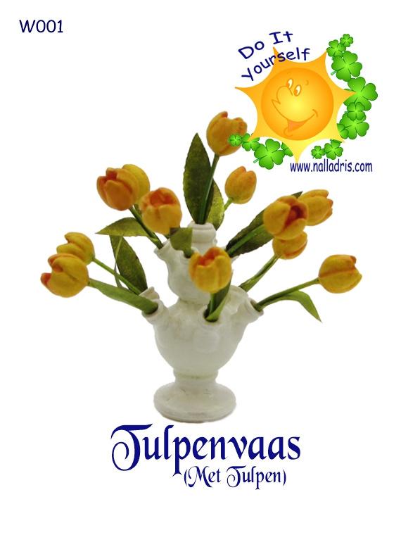 W001 DIY Tulpenvaas