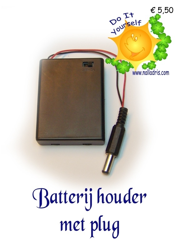 Battery block with Jackplug