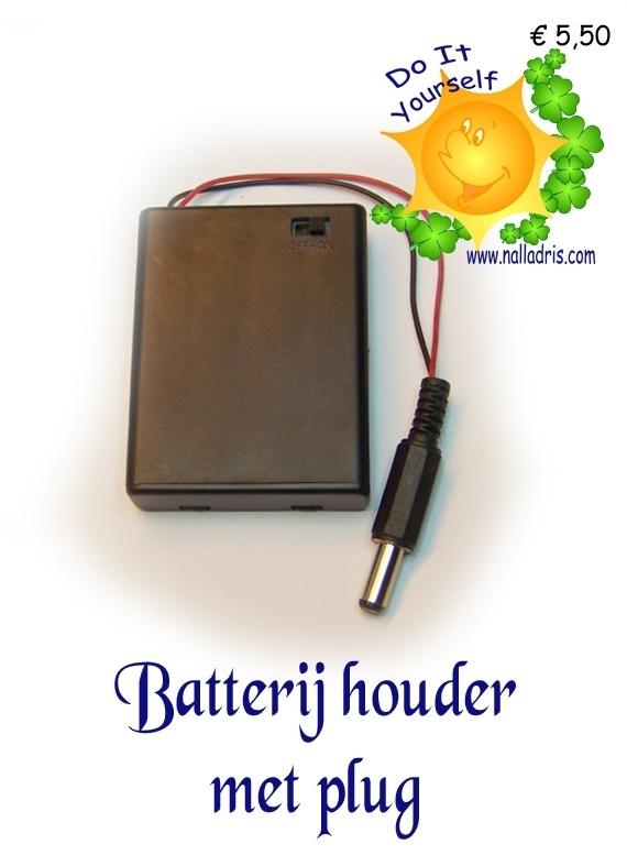 Batterijblokje met Jackplug