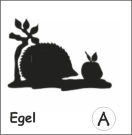 Egel Hangplant haak 30cm