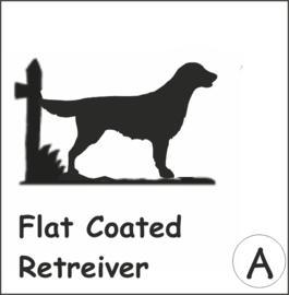 Flat Coated Retreiver Hangplant haak 40cm