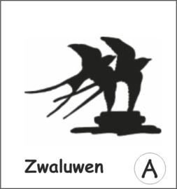 Zwaluwen Hangplant haak 40cm