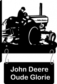 Trekker John Deere Uithangbord RVS