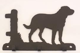 Zwitserse Sennenhond Sleutelrekje 3 haakjes
