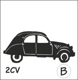 2CV Hangplant haak 40cm