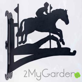 Paard military Hangplant haak 40cm