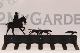 Jacht met Paard en honden Laarzenrek 3 paar
