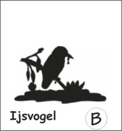 IJsvogel Hangplant haak 30cm