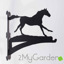 Paard Galop Hangplant haak 30cm