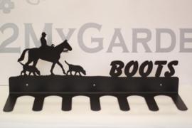 Paard en honden Laarzenrek 3 paar