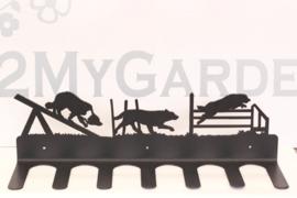 Agility honden Laarzenrek 3 paar