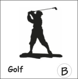 Golf Hangplant haak 40cm