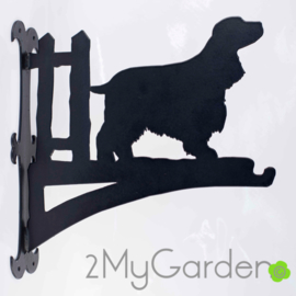 English Cocker Spaniel Hangplant haak 40cm