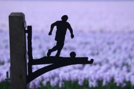 Voetballer Hangplant haak 40cm