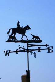Paard met honden Windwijzer Groot