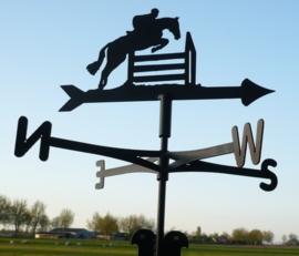 Paard Hindernis Windwijzer Middel