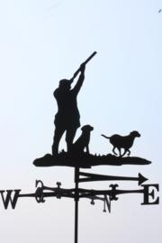 Jacht met Labrador Windwijzer groot