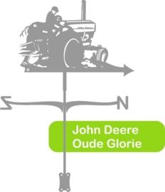 Trekker John Deere RVS Windwijzer Middel