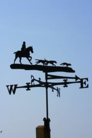 Jacht met Paard en Honden Windwijzer Groot