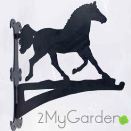 Paard in Draf Hangplant haak 40cm