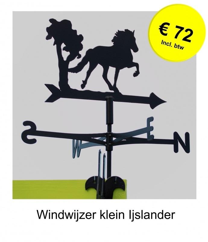 Ijslands Paard Windwijzer Middel