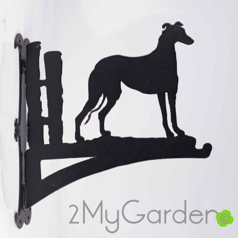 Greyhound Hangplant haak 30cm