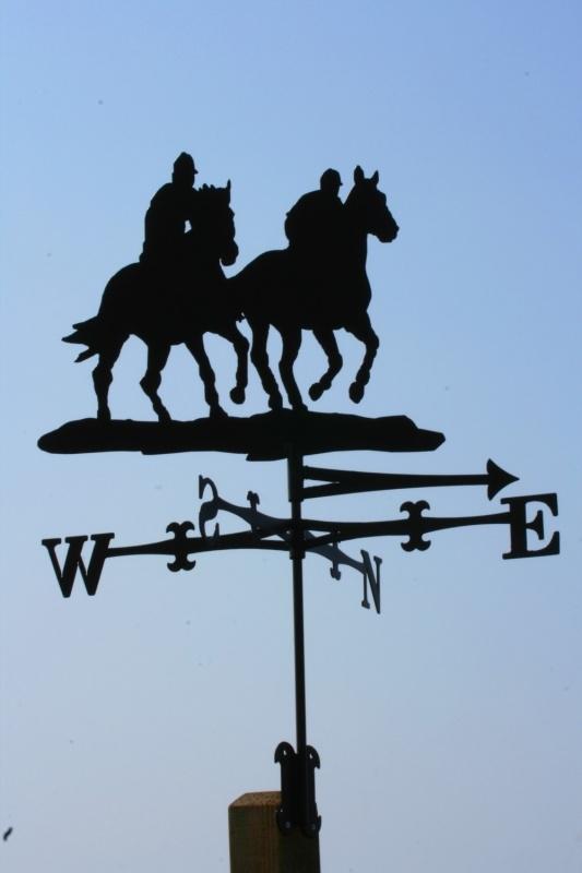 Paarden Handgalop Windwijzer groot
