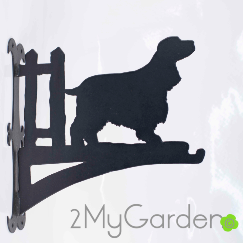 English Cocker Spaniel Hangplant haak 30cm